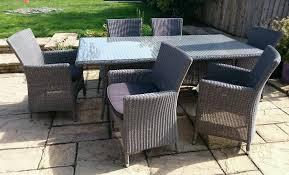 B Q Bistro Chairs Garden Furniture 6 Seats Interior Design