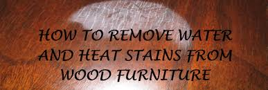 how to remove white spots of wood furniture how to remove water and heat stains from wood furniture