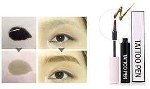 tattoo brow maybelline amazon yurica eyebrow tattoo pen 10g brow guide gift korean makeup natural