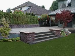 fair brick and concrete patio for interior home paint color ideas