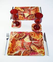 contemporary design dining table placemats mesmerizing kitchen