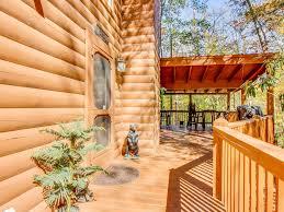 wraparound deck waterfront dog friendly cabin with wraparound deck firepit