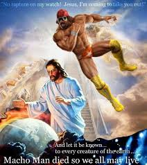 Randy Savage Meme - remember when macho man randy savage saved us all from the rapture