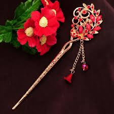 hair online india buy vintage pink peacock hair sticks hair accessories women charm