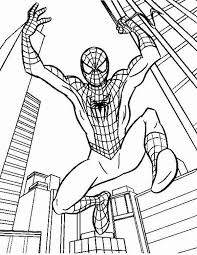 draw spiderman coloring draw spiderman