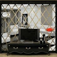 wall arts diy 3d mirror wall art aliexpresscom buy diamonds