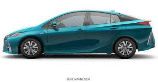 2017 toyota prius prime configurations and colors