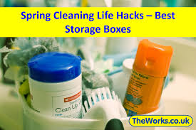best storage boxes for your spring cleaning works