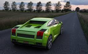 Lamborghini Gallardo Back - james chan lamborghini gallardo