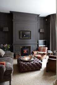 Dark Gray Living Room Furniture by Best 25 Dark Grey Walls Ideas On Pinterest Grey Dinning Room