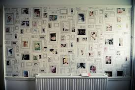how to decorate with pictures decorate your wall with fake frames and real photos