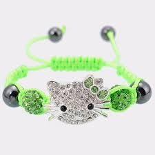 bracelet for handmade children cat bracelet for kids vintage jewelries store