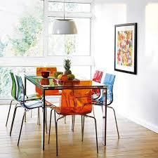 chaise de cuisine transparente chaise de cuisine transparente bricolage maison et décoration
