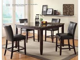 Dining Room Counter Height Tables U S Furniture Inc 2720 Dinette Transitional Counter Height 54