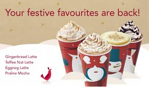 starbucks and costa festive drinks morley