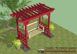 arbor swing plans outdoor arbor plans home outdoor decoration