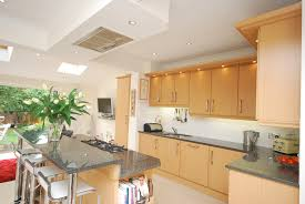 kitchen contemporary kitchen wooden cabinets lamps ideas with