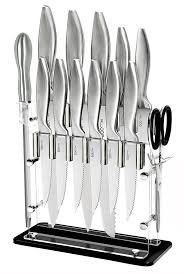 stainless steel kitchen knives 01 14 p stainless steel kitchen knife block set boomer