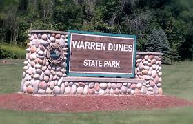 Warren Dunes State Park Map by Warren Dunes State Park Travel Across The Usa