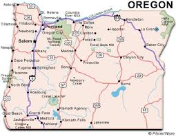 map of oregon united states map of oregon us