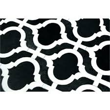White And Black Area Rug Black And White Area Rug Tapinfluence Co