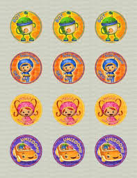 umizoomi cake toppers bling your cake tagged cupcake toppers page 8