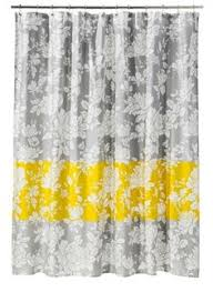 Grey And Yellow Bathroom Accessories by Mainstays Chevron Shower Curtain Yellow Apartments Kid