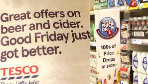 lexus uk advert 2017 tesco apologises for good friday beer advert metro news