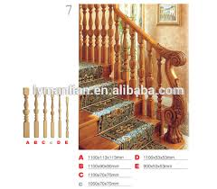 Oak Banisters And Handrails Round Wood Stair Railings Round Wood Stair Railings Suppliers And