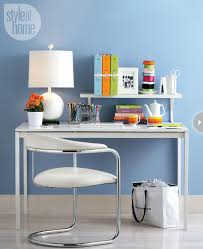 Organization Desk Small Space Organizing The Home Office Style At Home