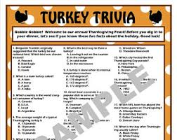thanksgiving tv trivia printable thanksgiving trivia