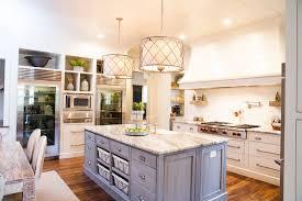 island drum lights kitchen farmhouse with kitchen island handle