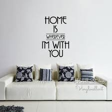 home is where picture more detailed picture about home is where home is where i am with you quote wall sticker family quote wall decal easy wall