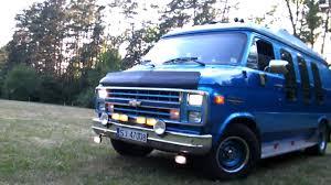 hd chevy van g20 wild sound big v8 engine hq hd youtube