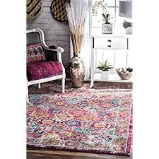 Pink Oriental Rug Amazon Com Nuloom Rzbd41b Pink Persian Leilani Area Rug 4 U0027 X 6