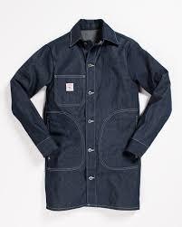 Denim And Supply Jacket Pointer Long Jacket Indigo Denim U2013 Hand Eye Supply