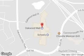 mall hours address directions oakwood mall