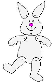 bunny puppet printable craft for easter monthly seasonal crafts