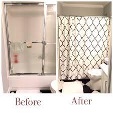 Shower Curtain Door New Replace Shower Door With Curtain 14 Photos Gratograt
