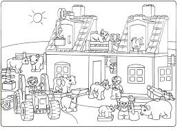 lego duplo knights coloring page for kids printable free