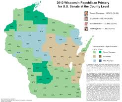 County Map Wisconsin by Wisconsin Election Maps And Results University Of Wisconsin Eau