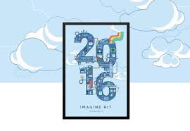 Rit Campus Map Kelly Hurlburt U203a Imagine Rit Poster