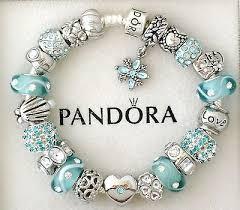 bracelet charm silver images Authentic pandora silver charm bracelet blue aquamarine heart love jpg