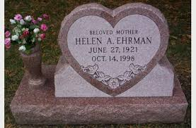 Flat Headstones With Vase How Heart Shaped Grave Markers Are Designed And Made