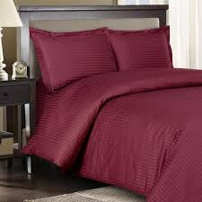 California King Down Alternative Comforter Stripe Burgundy Down Alternative Bed In A Bag Egyptian Cotton 600
