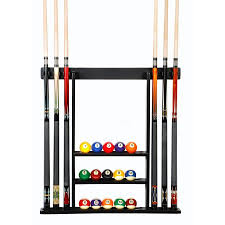 pool table wall rack cue rack only 6 pool billiard stick ball set wall rack holder