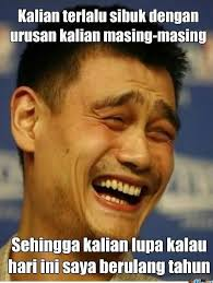 Jao Ming Meme - meme comic indonesia on twitter happy birthday yao ming jok