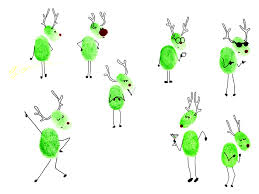 Xmas Designs For Cards Show Your Family U0027s Personality With These Cute Little Reindeer