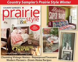Country Homes And Interiors Recipes Prairie Style Special Issue 2017 Vintage Market U0026 Design