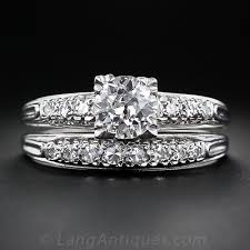 Engagement Wedding Ring Sets by Vintage Engagement And Wedding Ring Sets Lang Antiques